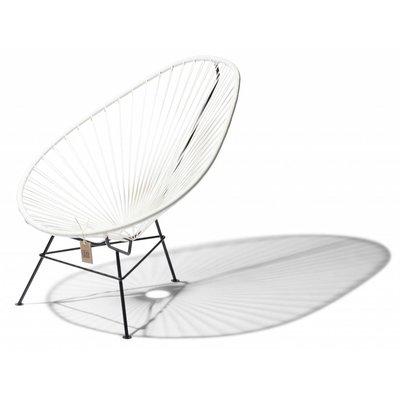 fauteuil acapulco blanc pour enfants le fauteuil acapulco authentique. Black Bedroom Furniture Sets. Home Design Ideas