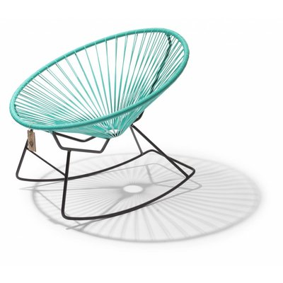 Condesa rocking chair turquoise