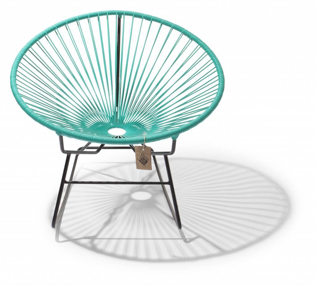 fauteuil bascule condesa turquoise le fauteuil acapulco authentique. Black Bedroom Furniture Sets. Home Design Ideas