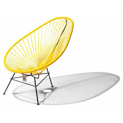 Acapulco kids chair, yellow