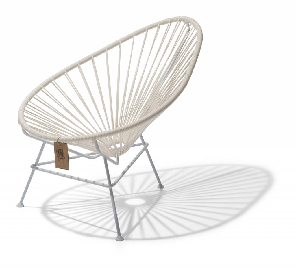 limited edition 100 white baby acapulco chair the original acapulco chair. Black Bedroom Furniture Sets. Home Design Ideas