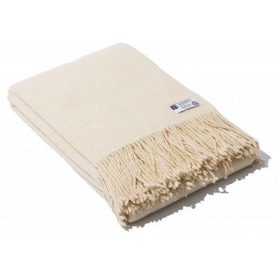 Raw merino wool blanket