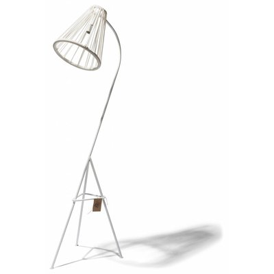 Kahlo floor lamp white