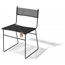 Sedia a slitta Polanco, nero