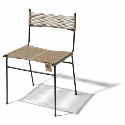 Chaise de salle à manger Polanco beige