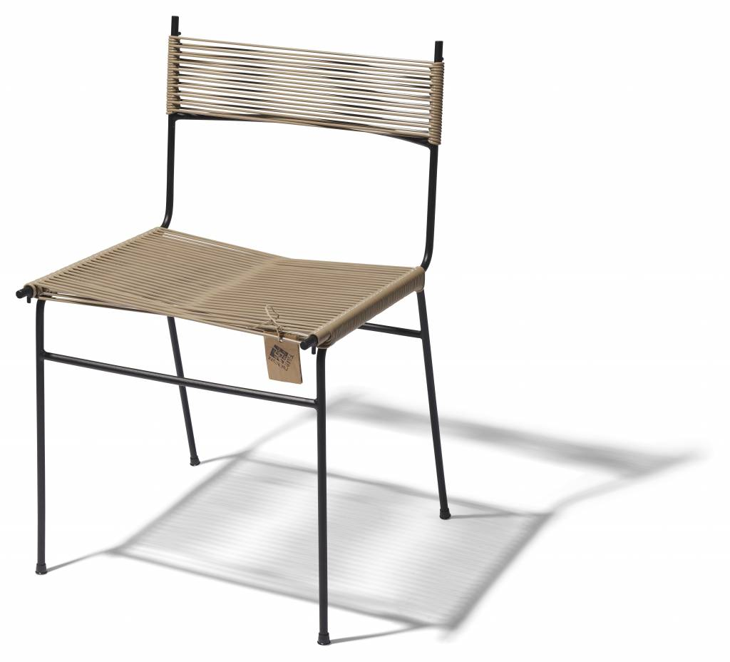 Nuevo silla de cord n polanco hecha a mano en m xico for Sillas comedor color beige