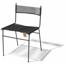 Chaise de salle à manger Polanco noir
