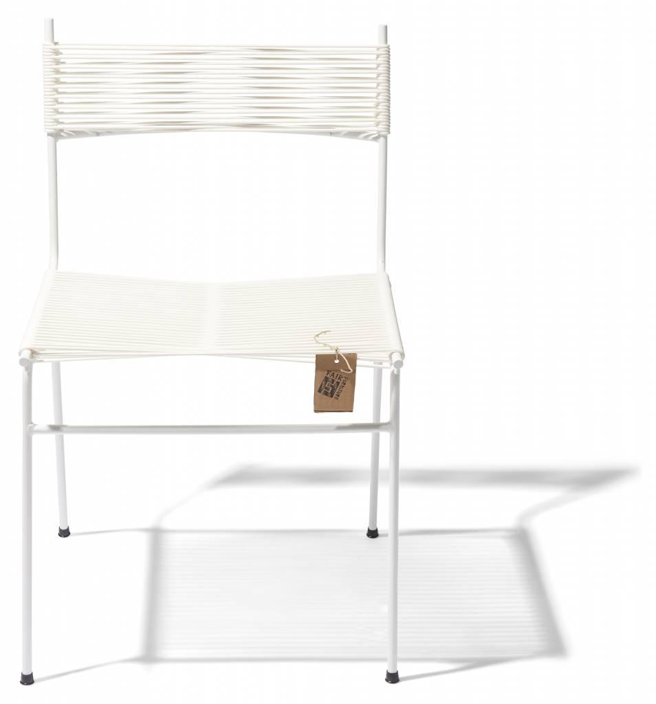 Chaise de cordon fait la main le fauteuil acapulco authentique - Chaise salle a manger blanc ...