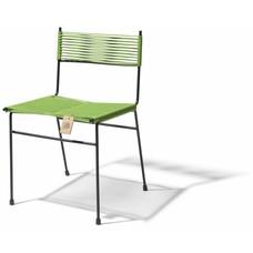 Chaise de salle à manger Polanco vert olive