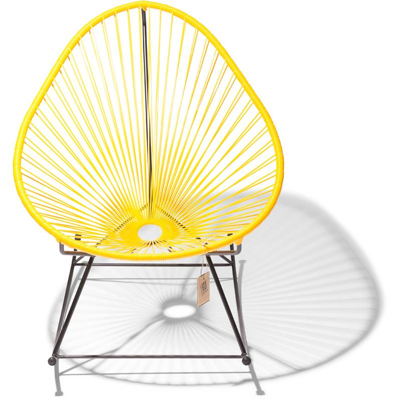 acapulco rocking chair yellow the original acapulco chair. Black Bedroom Furniture Sets. Home Design Ideas