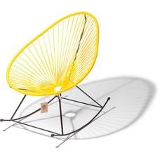 Acapulco schommelstoel geel