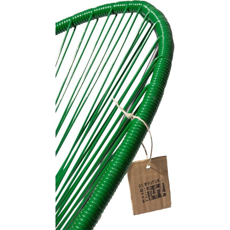 Sedia a dondolo acapulco verde scuro sedie originali for Sedia a dondolo verde