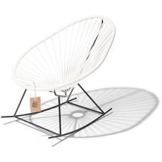 Le fauteuil à bascule baby blanc