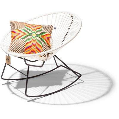 fauteuil bascule condesa blanc le fauteuil acapulco authentique. Black Bedroom Furniture Sets. Home Design Ideas