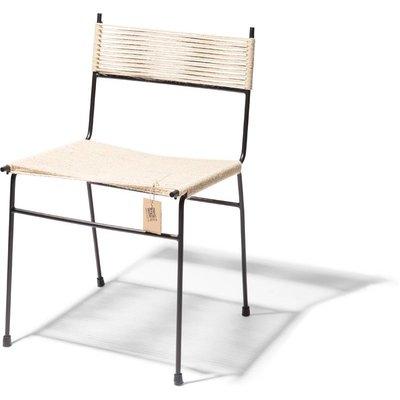 Polanco dining chair, 4 legs, hemp