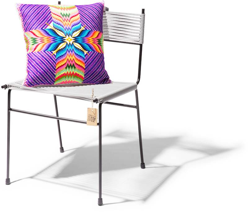 Dining cord chair model polanco the original acapulco chair
