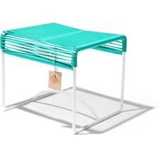 Xalapa turquoise, cadre blanc
