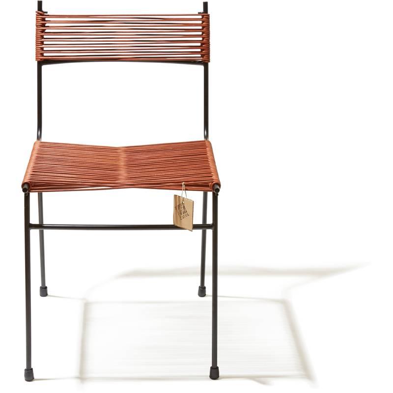 Nuevo silla de cord n polanco hecha a mano en m xico for Sillas de comedor de cuero