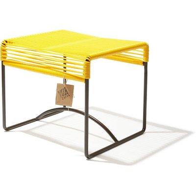 Xalapa Hocker oder Fußablage gelb