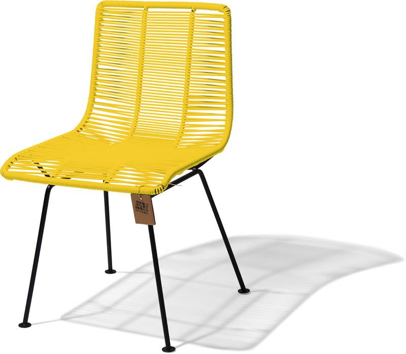 Rosarito Dining Chair Yellow