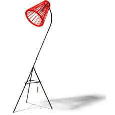 Kahlo floor lamp red