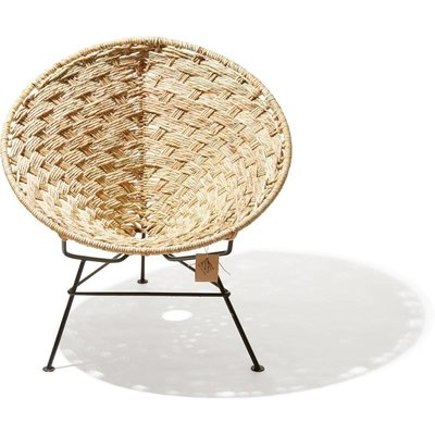 Condesa chair made with Tule, natural reed