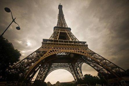 Zelfklevend fotobehang 'la tour Eiffel' - DecoDog