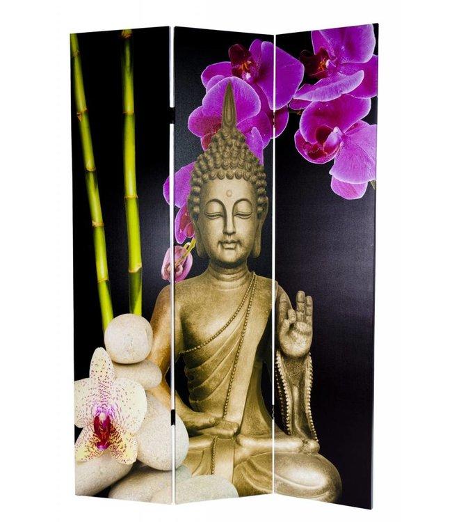 Canvas Kamerscherm Boeddha