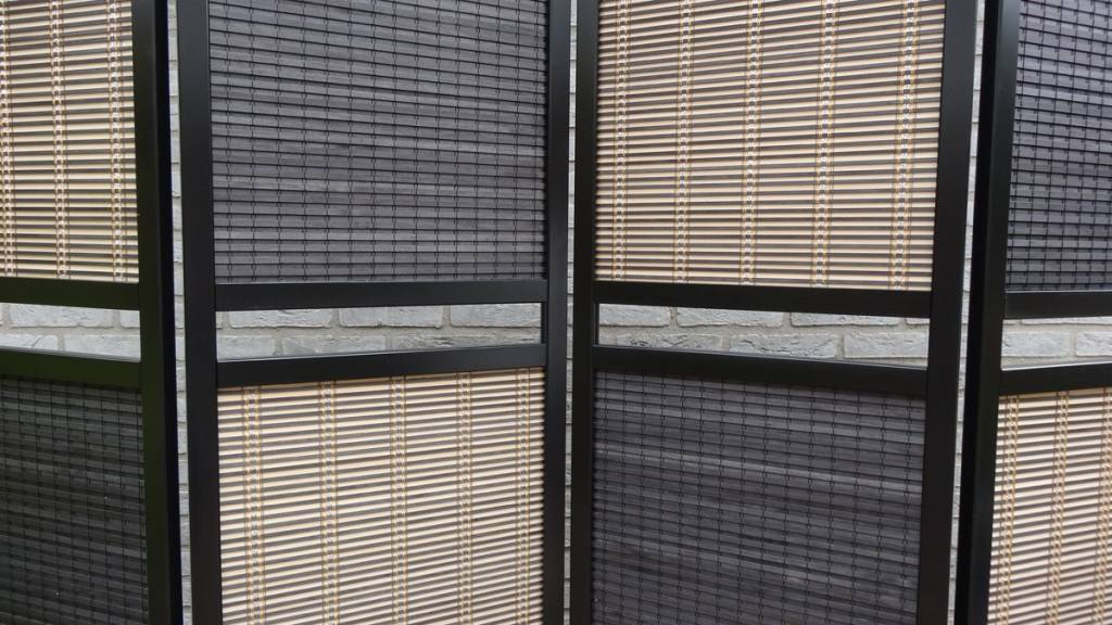 Scheidingswand Flexibel 4 Panelen - Canvasscherm.nl