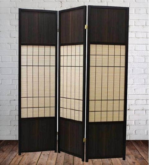 Roomdivider Walnut