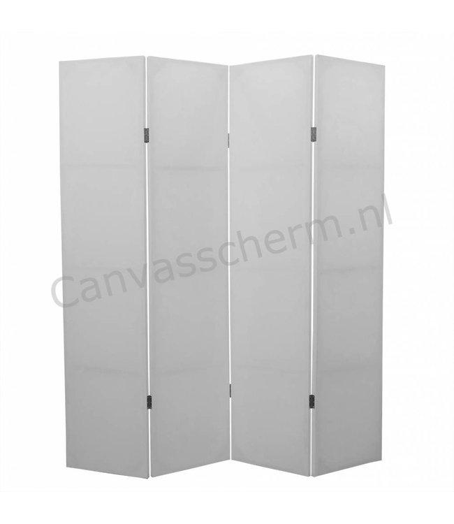 Wit Kamerscherm Blanco 4 panelen