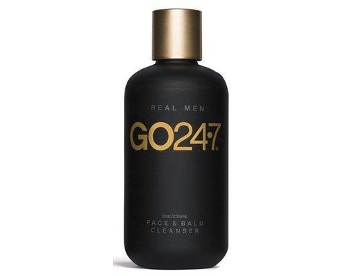 GO 24•7 REAL MEN Face & Bald Cleanser
