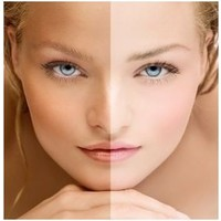 MARC INBANE black exfoliator gezichtsscrub + natural tanning spray + glove