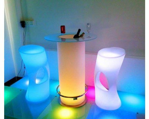 LED Lounge hoge Bartafel