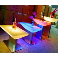 LED Salon Tafel