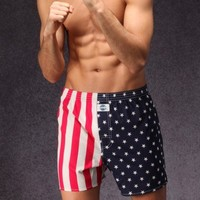 D.E.A.L. wijde boxershorts USA vlag