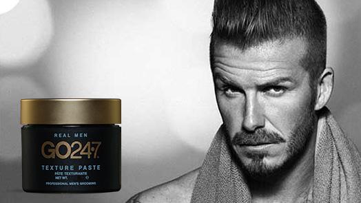 GO 24•7 Texture Paste is David Beckham's Favorite!