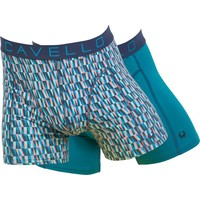 Cavello Underwear Two-pack boxershorts Blue Triangle