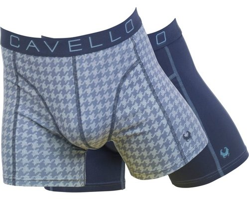 Cavello Underwear Two-pack boxershorts Blue Electric