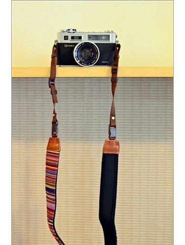 Kekke rode indiaanstrepen camerariemen