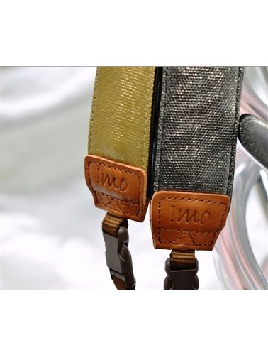 Pure gold camera strap