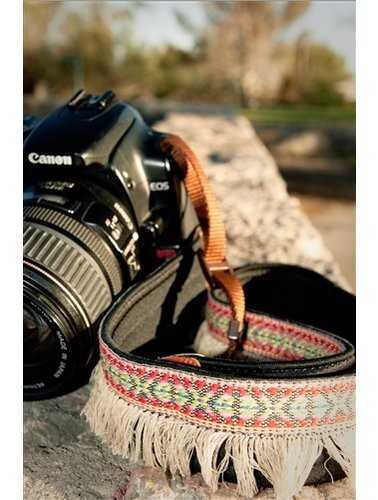 Kekke hippe franjes camera strap
