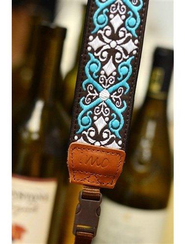 Brown damask strap