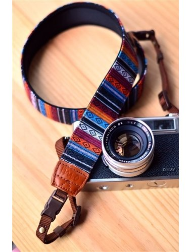 Indian Diamond camera strap