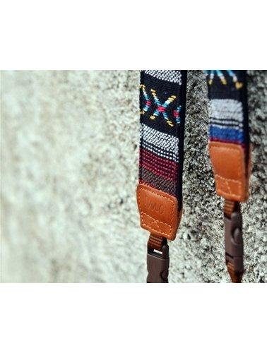 Grijze aztec camera riem