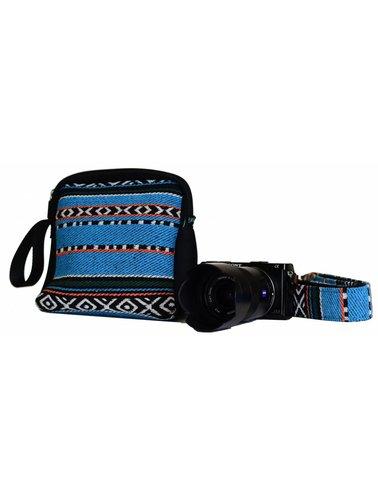 Dark Triangle camera strap - Copy