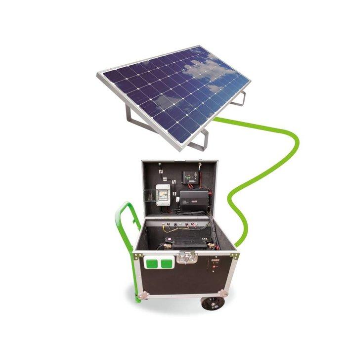 CareIsland - die mobile & autarke Solaranlage