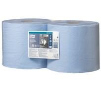 Tork rol papier 130081 2 rollen W1 W2 heavy duty 3laags blauw d26cm b26cm