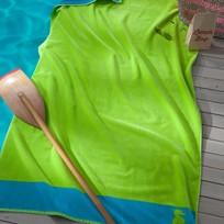 Seahorse strandlaken Cruise Lime 100x180 cm 500 gr/m2 velours