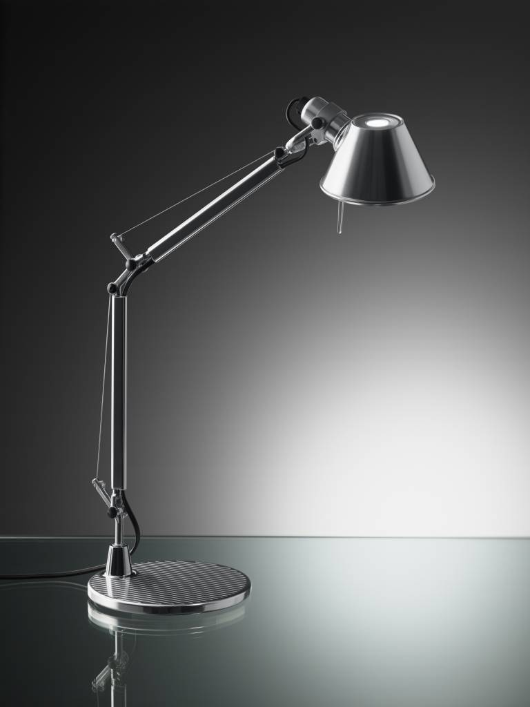 tolomeo mini led bureaulamp in 2 leduitvoeringen lucente. Black Bedroom Furniture Sets. Home Design Ideas